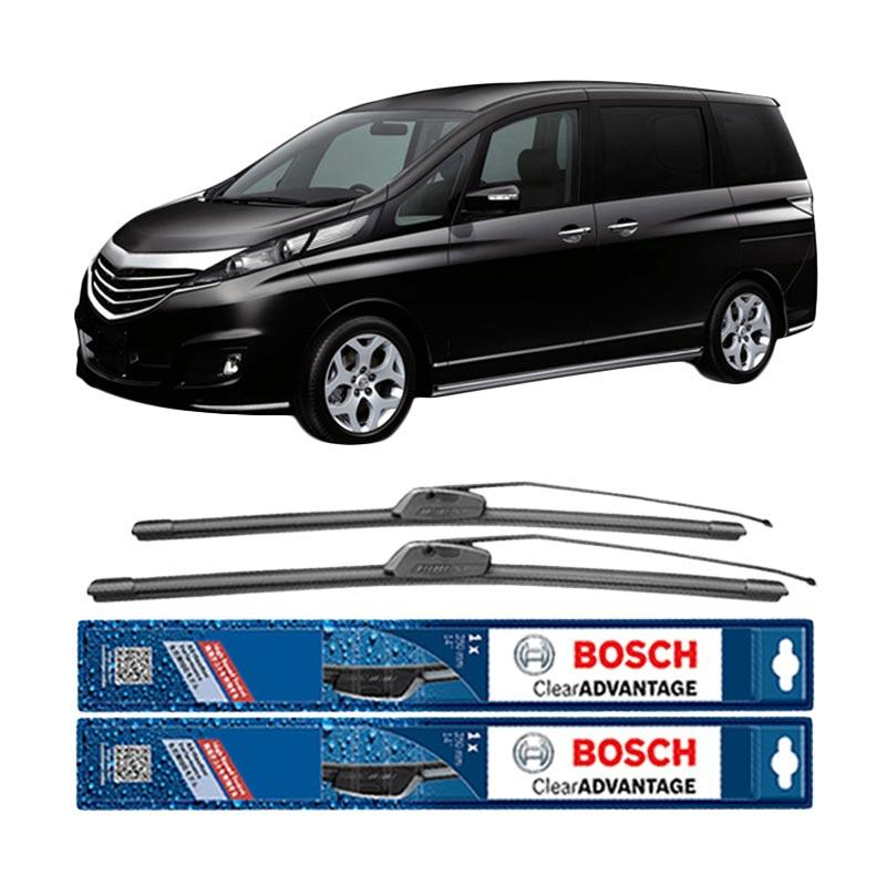 harga Bosch Wiper Frameless New Clear Advantage for Mazda Biante [26 & 14 Inch] Blibli.com