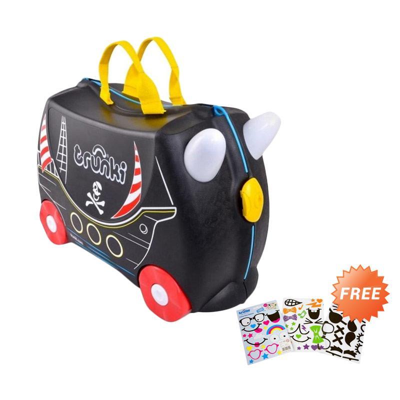 harga Trunki Luggage Pedro Pirate TR0312-GB01 Tas Sekolah + Free Sticker Blibli.com