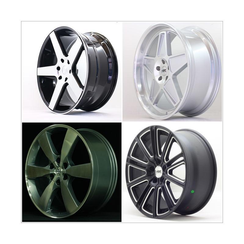 harga HSR Wheel Set with Tyres Z29250 Ring 22 Velg + Ban Mobil [Pasang Di TKB Group] Blibli.com