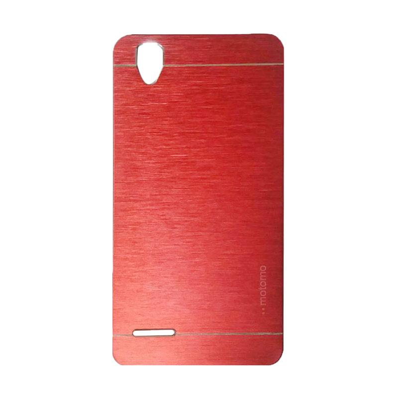 Motomo Metal Hardcase Backcase Casing for Oppo F1 Selfie or A35 - Red