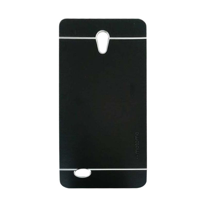Motomo Metal Hardcase Backcase Casing for Oppo Joy 3 or A11W - Black
