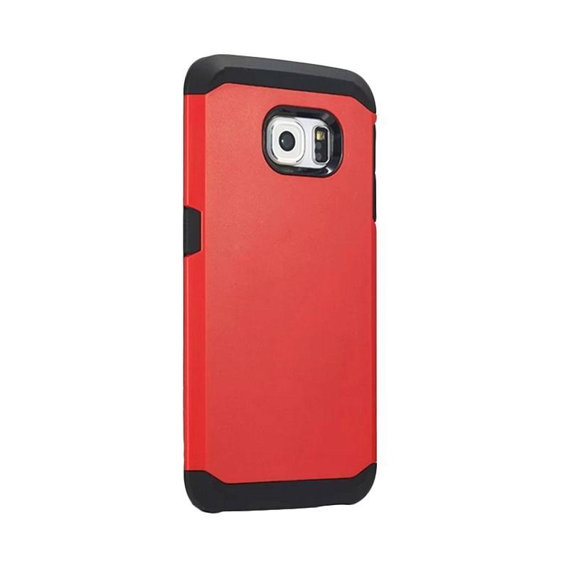 Spigen SGP Slim Armor Casing for Samsung Galaxy S6 Edge - Merah