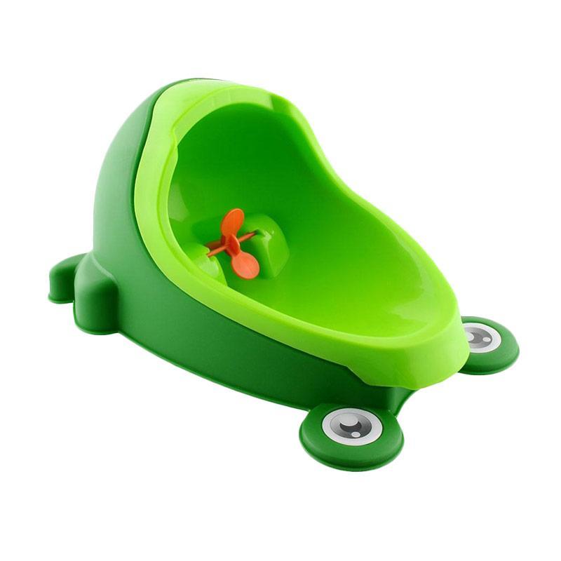Cute Frog Baby Potty Urinal Training for Baby Boy - Hijau