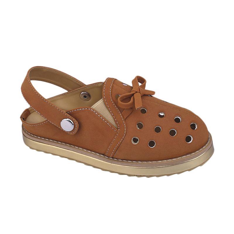 Catenzo Junior CJR CRA 005 Sandal Casual Anak Perempuan - Tan