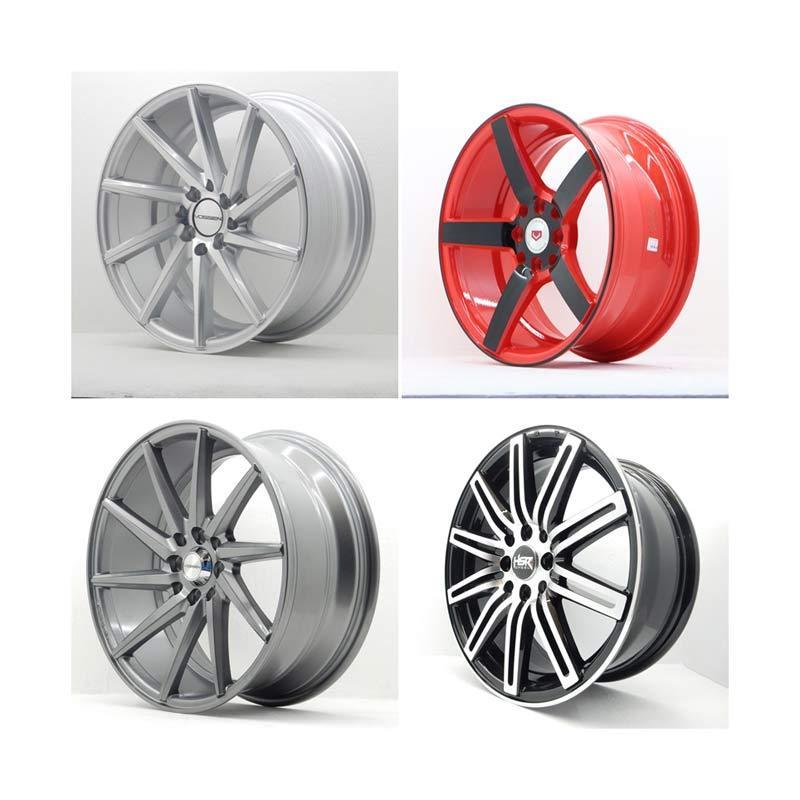 harga HSR Wheel Set With Tyres Z8250 Ring 17 Velg + Ban Mobil [Pasang Di TKB Group] Blibli.com
