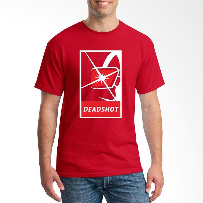 Jersi Clothing Deadshot Velvet Print Kaos Pria - Red Extra diskon 7% setiap hari Extra diskon 5% setiap hari Citibank – lebih hemat 10%