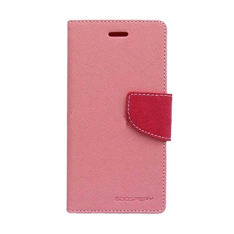 Mercury Fancy Diary Casing for Sony Xperia Z3 Mini M55W - Pink Magenta