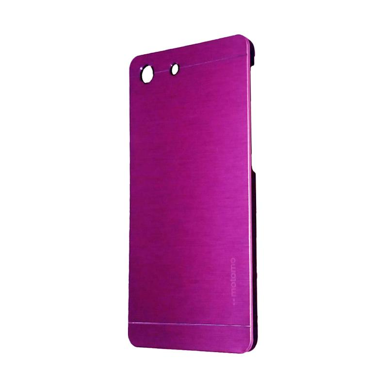 Motomo Metal Hardcase Backcase Casing for Sony Xperia M5 - Pink