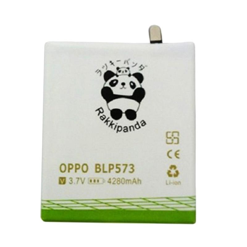 RAKKIPANDA Double Power and IC Battery for OPPO N1 Mini BLP573