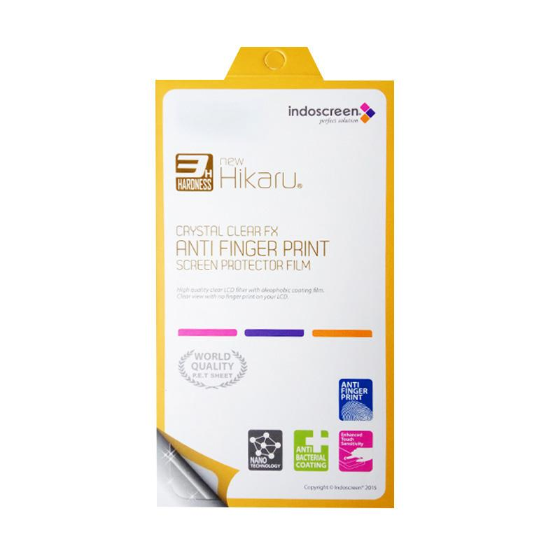Hikaru Anti Finger Print Screen Protector for LG K8 K350N - Clear