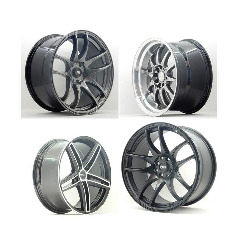 harga HSR Wheel Set With Tyres Z9250 Ring 17 Velg + Ban Mobil [Pasang Di TKB Group] Blibli.com