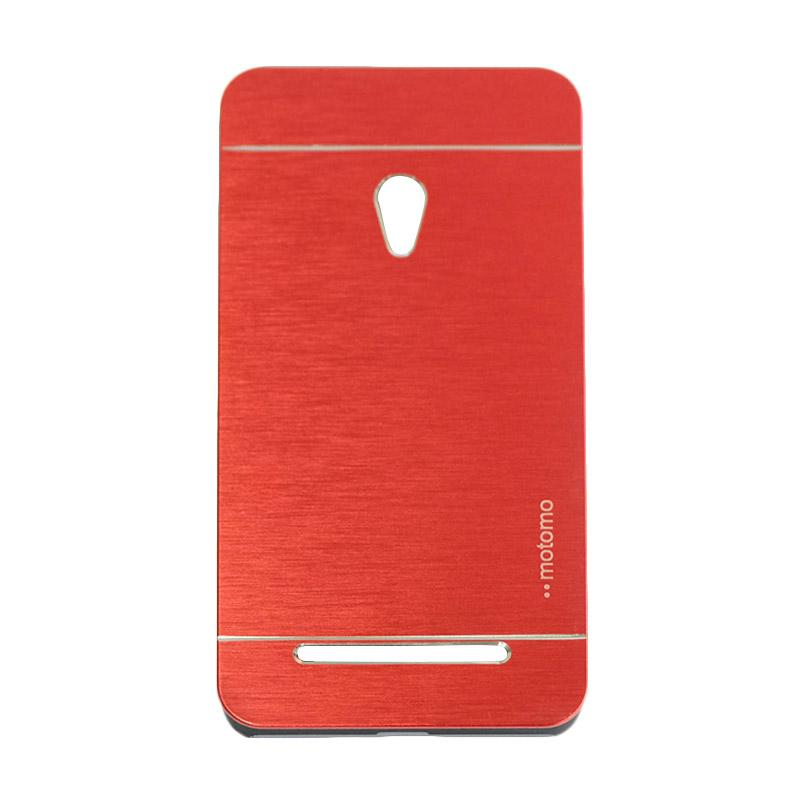Motomo Metal Backcase Hardcase Casing for Asus Zenfone 5 A500CG - Red