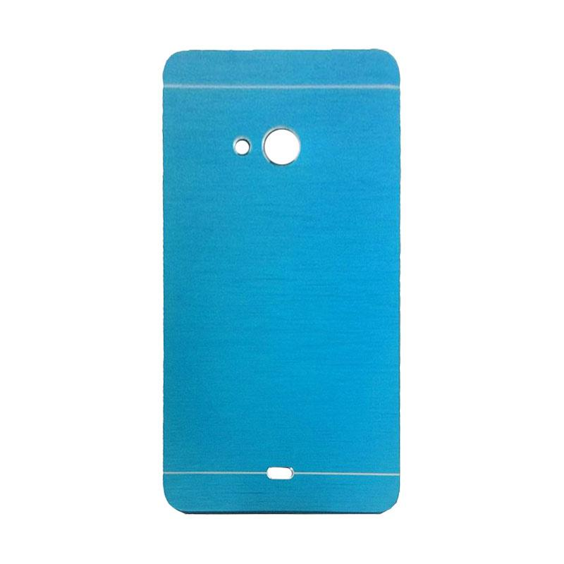 Motomo Metal Hardcase Casing for Microsoft Lumia 540 - Sky Blue