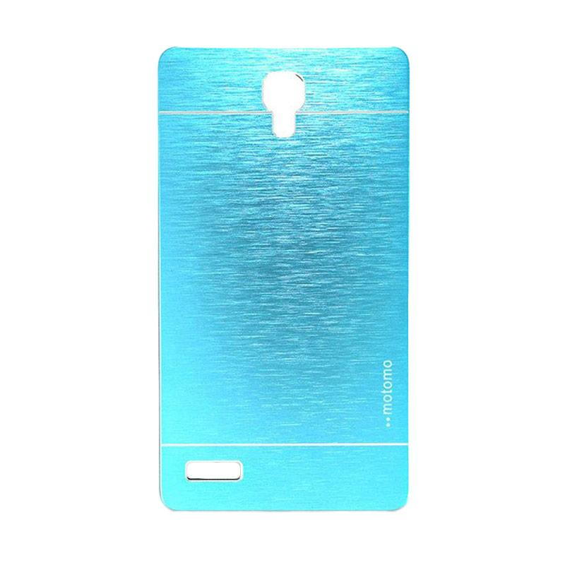 Motomo Metal Hardcase Casing for Xiaomi Redmi Note - Sky Blue