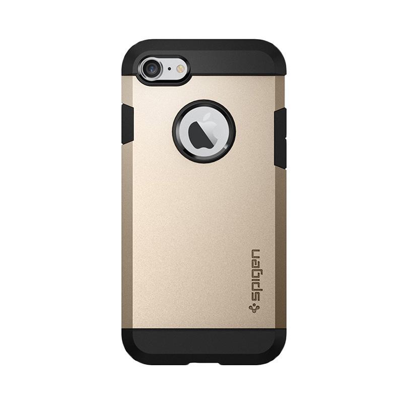 Spigen Original Tough Armor Casing for iPhone 7 - Champagne Gold