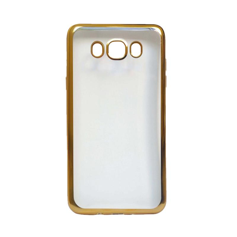 Ultrathin iPhoria Shining Casing for Samsung J510 (J5 2016) - Gold