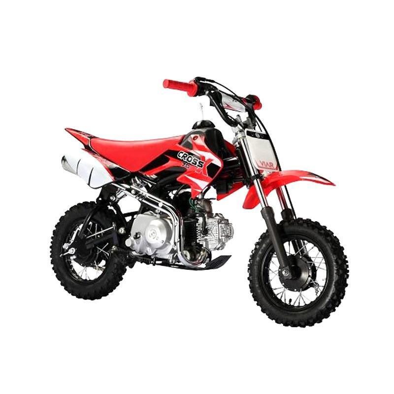 harga Viar Cross X 70 Mini Trail Sepeda Motor Cross - Merah [Jawa Timur] Blibli.com