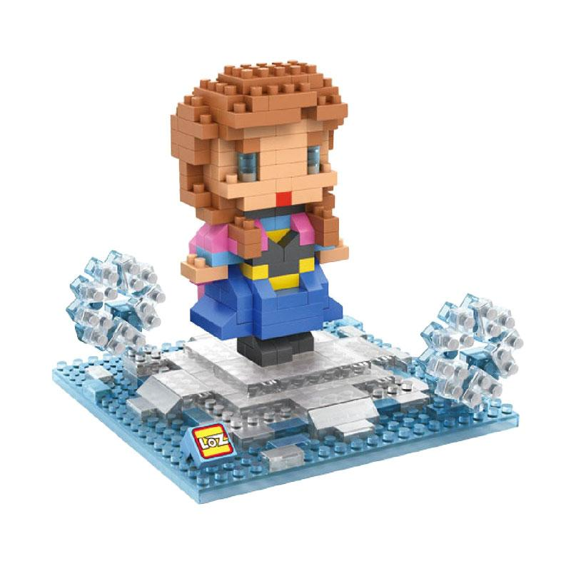 Loz Diamond Block 9498 Frozen Anna Mainan Blok & Puzzle