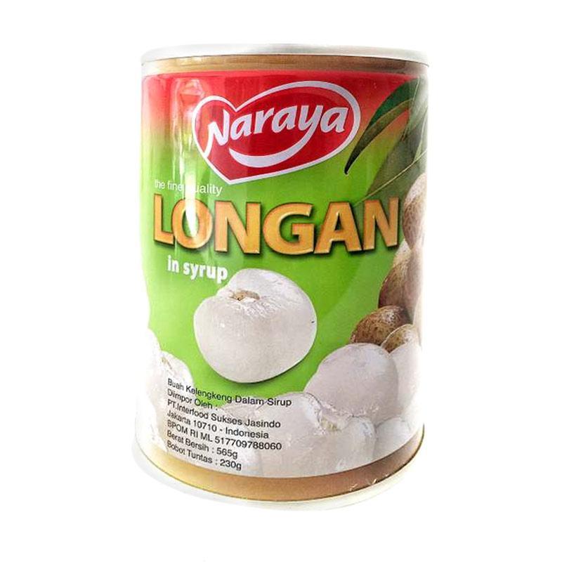 harga Daily Deals - Naraya Longan In Syrup Canned Minuman Buah Kelengkeng Kaleng [565 g] Blibli.com