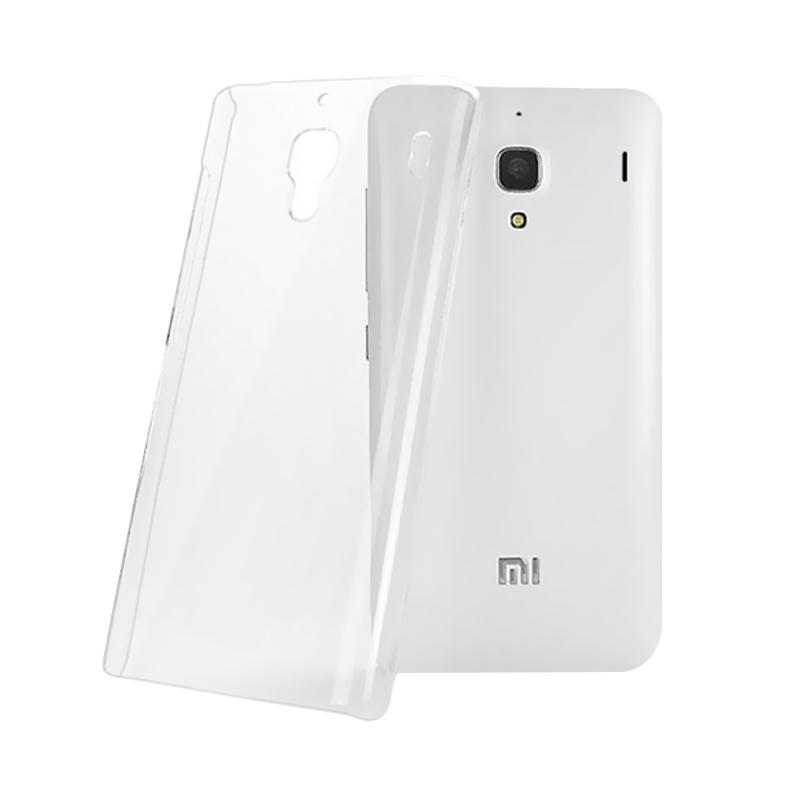 OEM Ultrathin Jelly Softcase Casing for Xiaomi Redmi Note - Clear