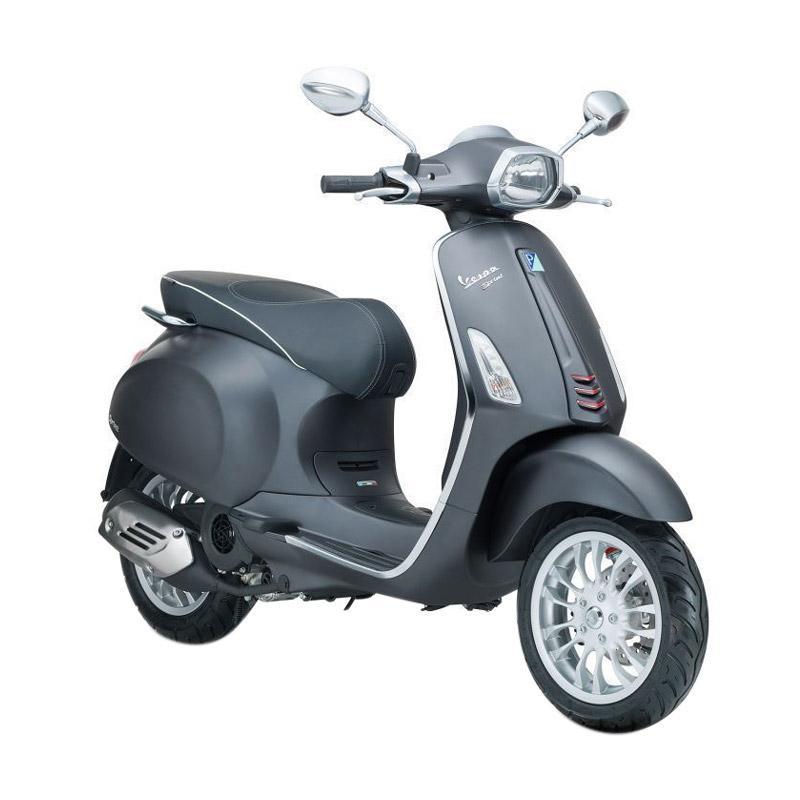 harga Vespa Sprint 150 i-Get Sepeda Motor - Grigio Titanio [OTR Bandung] Blibli.com