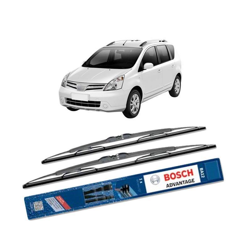 harga Bosch Advantage Wiper Kaca Depan Mobil for Nissan Livina L10 [24 dan 14 Inch] Blibli.com