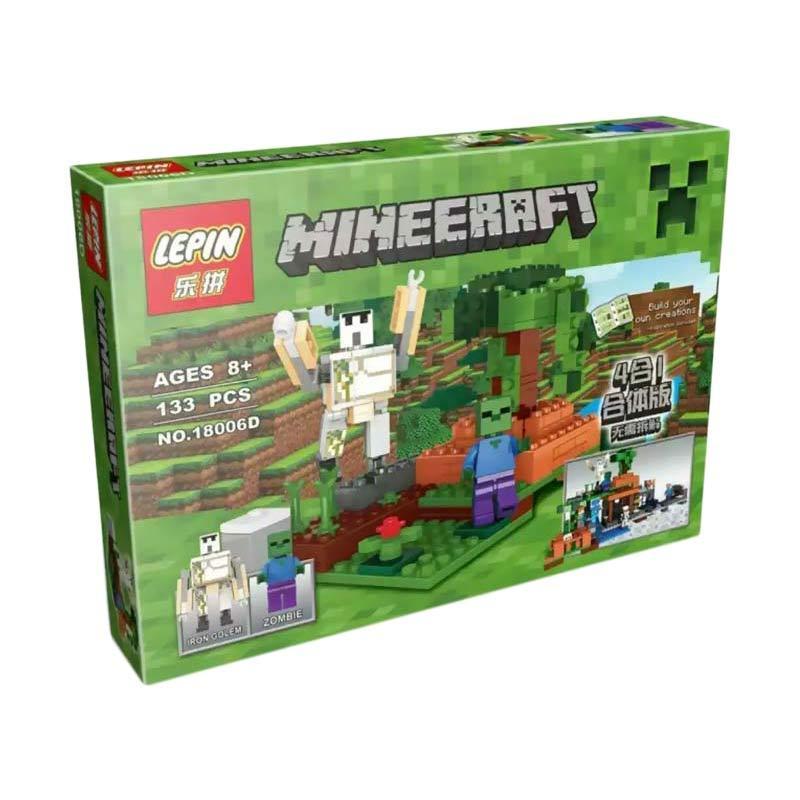 Lepin Bricks 18006 A-D Mineeraft My Craft Block Blocks & Stacking Toys