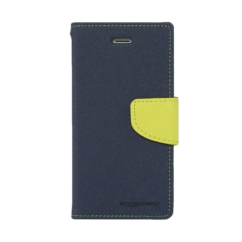 Mercury Fancy Diary Casing for SONY Xperia M5 E5603 - Biru Laut Hijau Tua