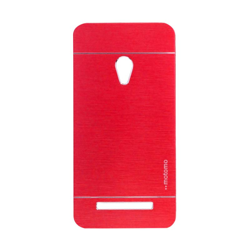 Motomo Metal Backcase Hardcase Casing for Asus Zenfone 6 A600CG - Red
