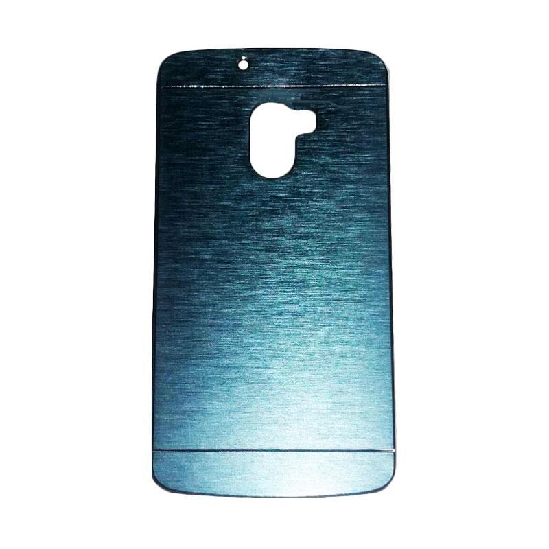 Motomo Metal Hardcase Casing for Lenovo A7010 or K4 Note - Dark Blue