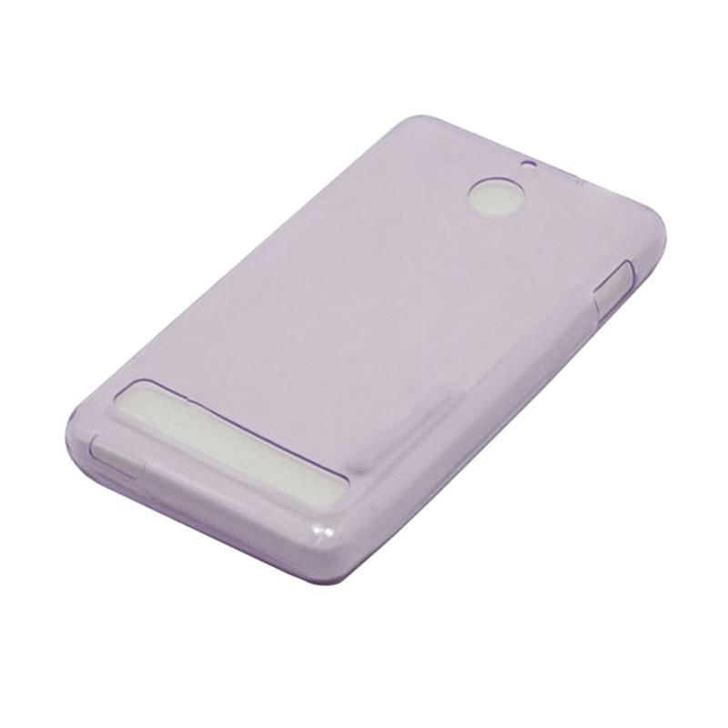OEM Ultra Thin Jelly Softcase Casing for Sony Xperia E1 - Purple