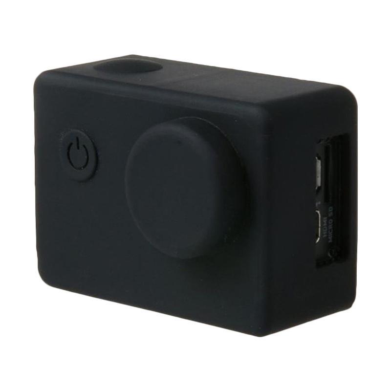 Brica B-PRO Alpha Edition AE Action Camera Silicone Case and Lens Cap - Hitam