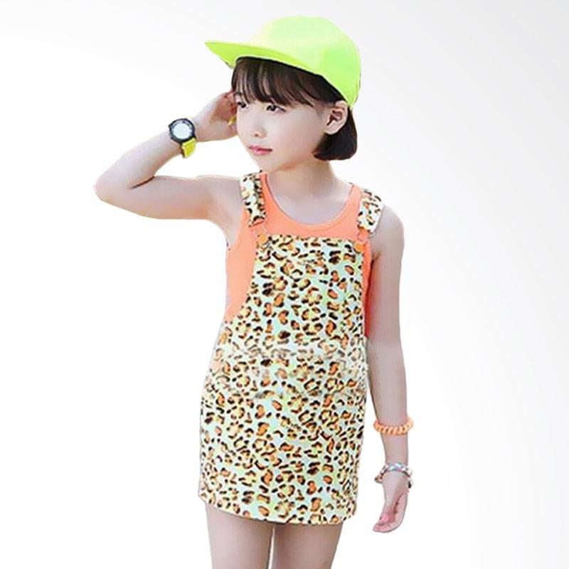 Chloe Babyshop Gw Fashion F793 Baju Jumpsuit Anak - Orange