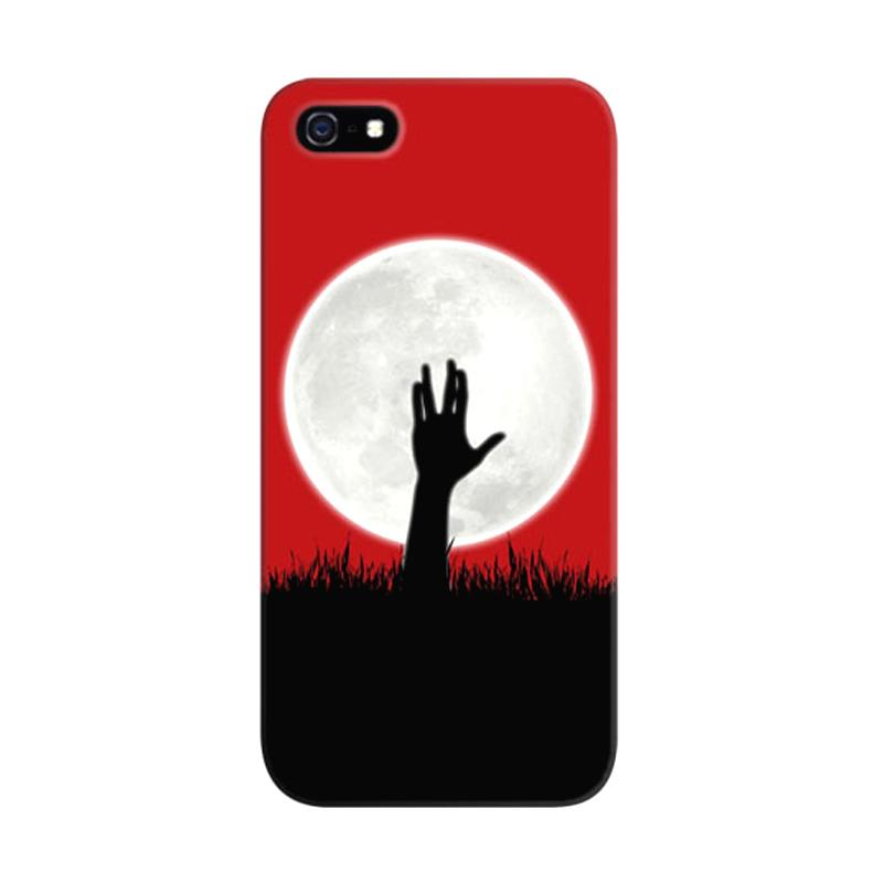 Indocustomcase Zombie Spock Custom Hardcase Casing for iPhone 5/5S/SE