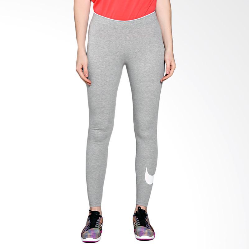 harga Nike Women AS Nsw Legging Club Logo2 Celana Olahraga Wanita - Grey 815998-063 Blibli.com