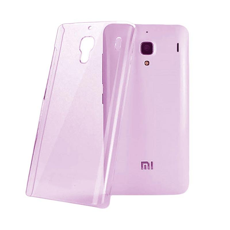 OEM Ultrathin Jelly Softcase Casing for Xiaomi Redmi Note - Pink