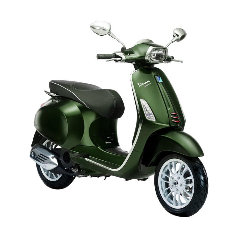 harga Vespa Sprint 150 i-Get Sepeda Motor - Verde Muschio [OTR Semarang] Blibli.com