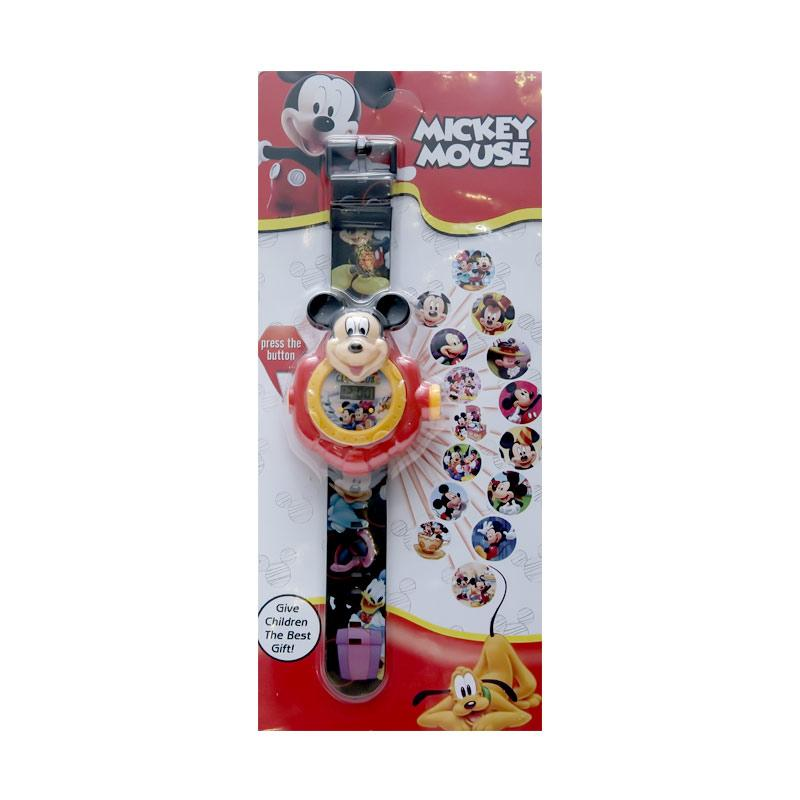 Chloe Babyshop  Projector 20 Mickey Mouse Jam Tangan Anak