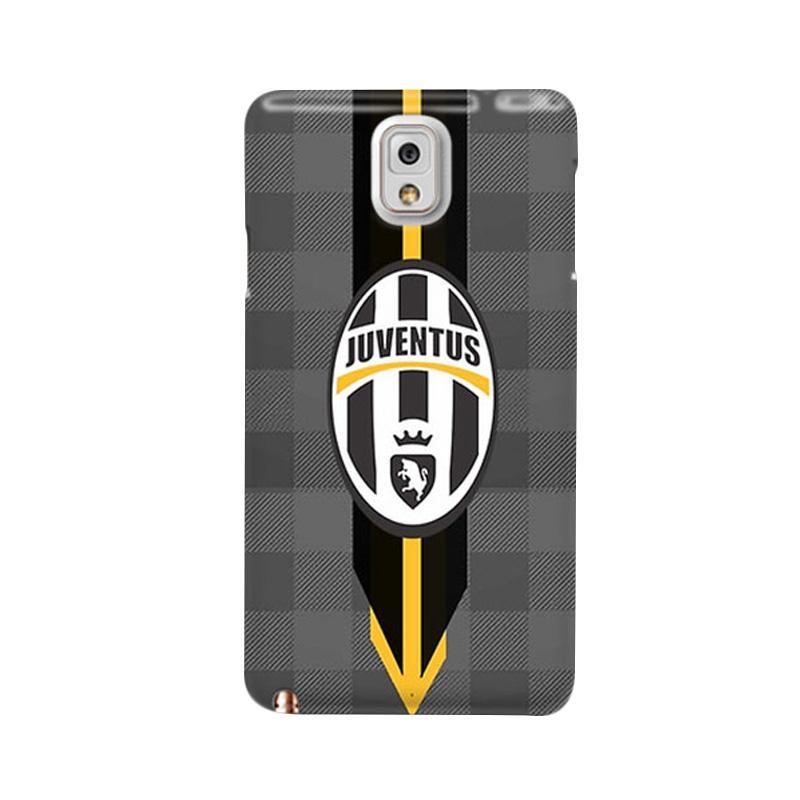 Indocustomcase Juventus FC IDC07 Custom Hardcase Casing for Galaxy Note 3 N9000