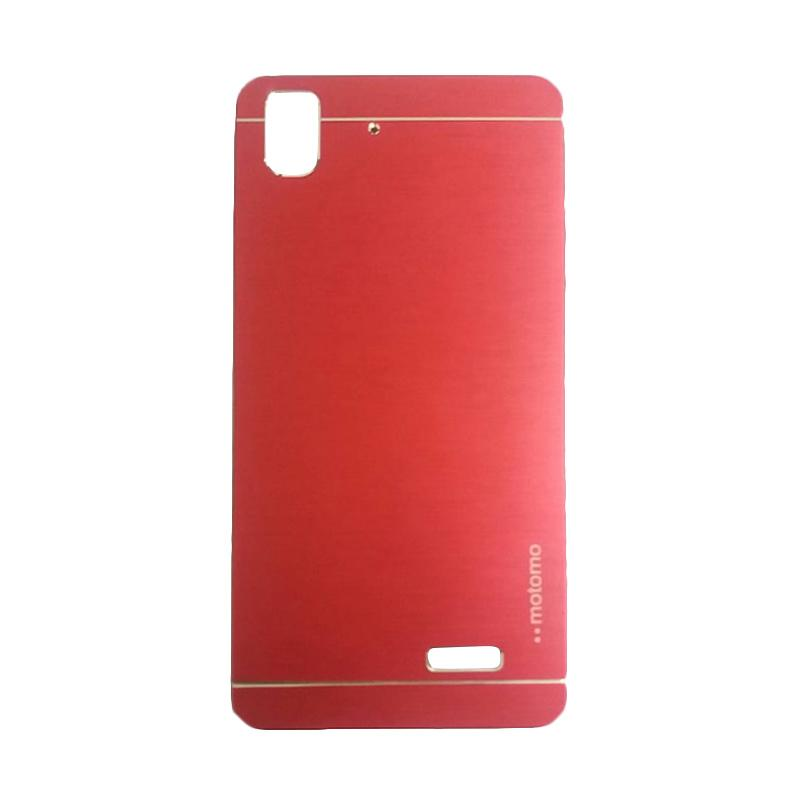 Motomo Metal Hardcase Backcase Casing for Oppo R7 or R7 Lite - Red