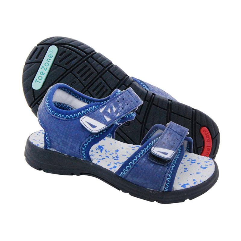 ToeZone Kids Jonas Ch Sepatu Sandal Anak Laki-laki - Navy
