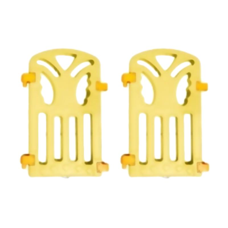 Coby Haus Fence Panel Butterfly Pagar Pengaman Bayi - Yellow