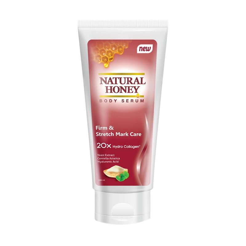 Natural Honey Body Serum Firm & Stretch Mark Care [180 mL]