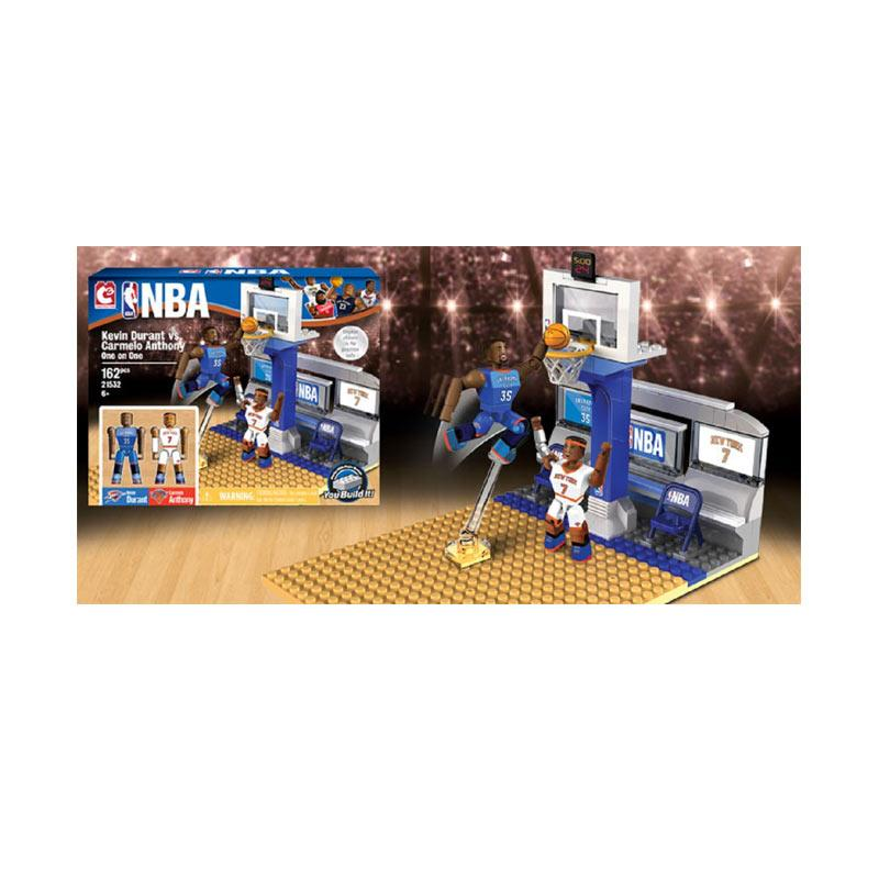 NBA Lego Style C3 One on One Sets Kevin Durant vs Carmelo Anthony Blocks & Stacking Toys