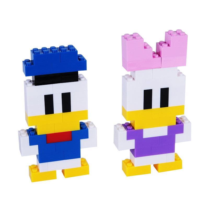 Chloe Babyshop Donal Duck Lego Mainan Anak - Multicolour