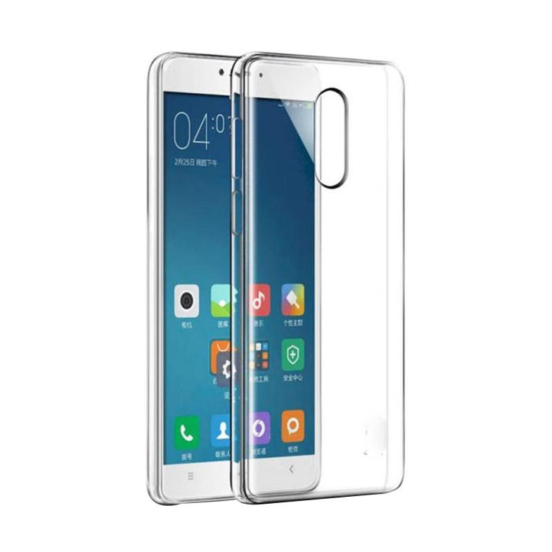 OEM Ultrathin Softcase Jelly Casing for Xiaomi Redmi Note 4 - Clear