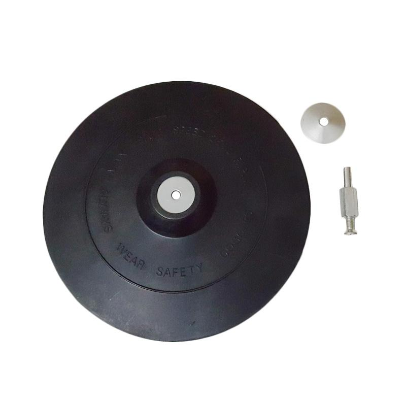Sellery 07-607 Rubber Backing Pad with Arbor, Shank [6 & 180 mm]