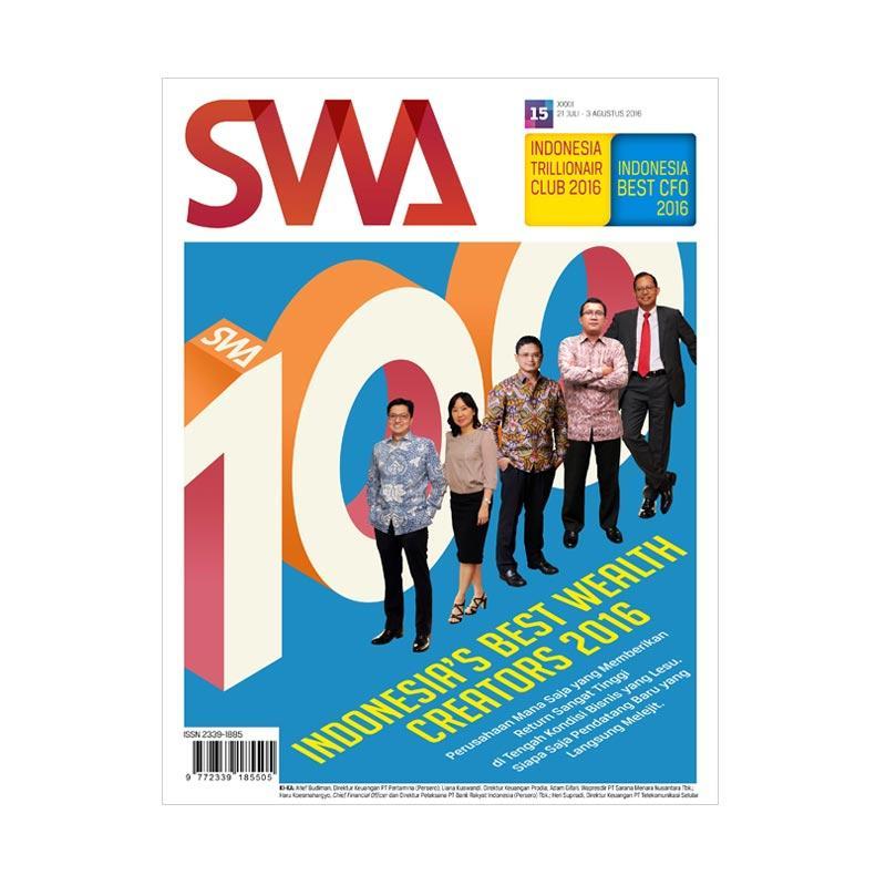 SWA edisi 15/2016 Juli - 03 Agustus 2016 Indonesia Best Wealth Creator 2016 Majalah