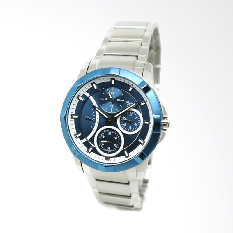 Alexandre Christie 2503 Jam Tangan Wanita - Silver Blue