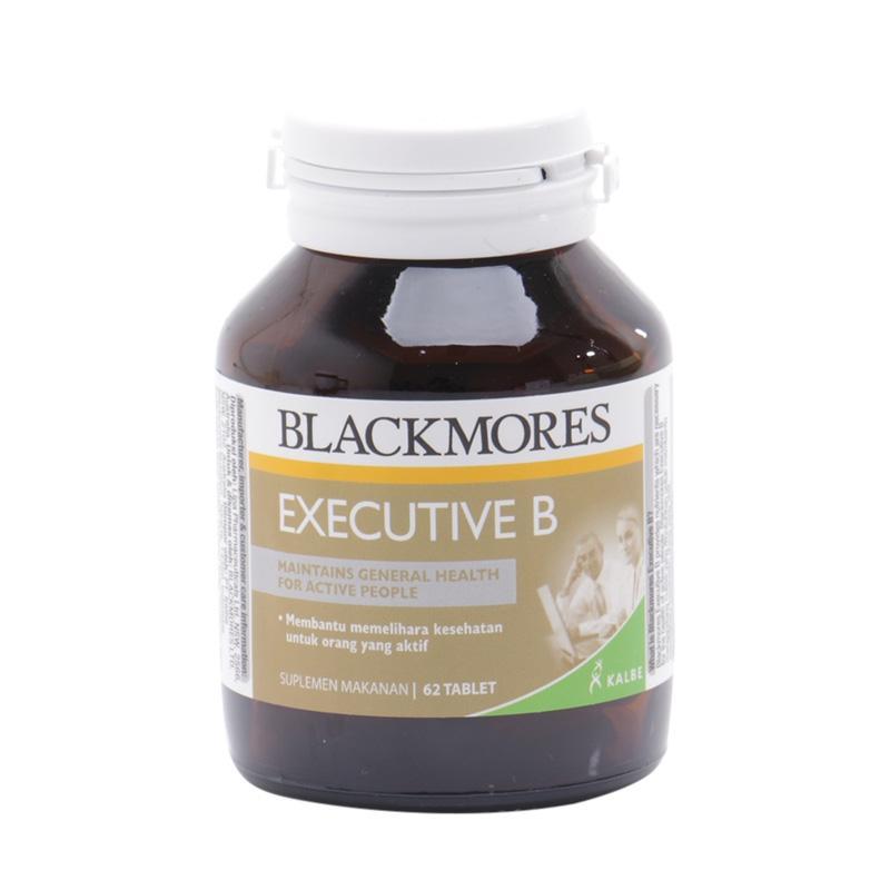 harga Blackmores Executive B - BPOM Kalbe 62's - Vitamin B, Anti Stress, Vitamin B Complex, Vitamin B kompleks, Vitamin C, Obat Stress, Obat Insomnia, Susah Tidur, Mencegah Kelelahan, Menjaga Kesehatan Tubuh, Imun Tubuh Blibli.com